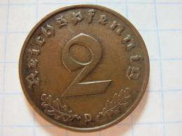 2 Reichspfennig 1937 (D) - 2 Reichspfennig