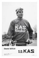 CARTE CYCLISME EDUARDO CASTELLO TEAM KAS 1969 - Ciclismo