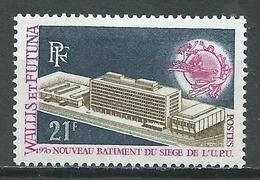 Wallis Et Futuna YT N°176 Nouveau Batiment Siège De L'U.P.U. Neuf/charnière * - Ongebruikt
