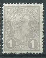 Timbre Luxembourg Y&T N°69 Neuf * - 1895 Adolfo Di Profilo