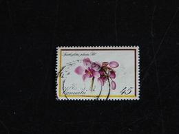 VANUATU YT 651 OBLITERE - ORCHIDEE FLEUR FLORE - Vanuatu (1980-...)