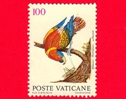 VATICANO - Usato - 1989 - Uccelli - 100 L. • Pappagallo Cenerino - Vatican