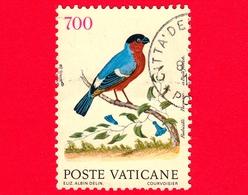 VATICANO - Usato - 1989 - Uccelli - 700 L. • Fringuello - Vatican