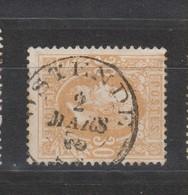 COB 33 Oblitération Centrale OSTENDE - 1869-1883 Léopold II