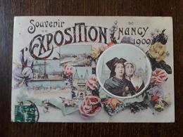 L23/4 NANCY - Souvenir De L' Exposition De NANCY 1909 - Nancy