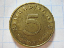 5 Reichspfennig 1937 (A) - 5 Reichspfennig
