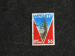 VANUATU YT 733 OBLITERE - TOURISME SAUT DU GAUL - Vanuatu (1980-...)