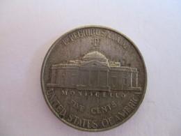 USA Jefferson 5 Cents 1943 P (war Nickel) - Émissions Fédérales