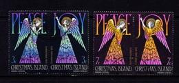 CHRISTMAS  ISLAND   1972    Christmas    Set  Of  2  Pairs       MH - Christmas Island