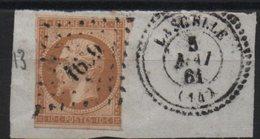 PC 1659  Lascelle,  Cantal - Marcophilie (Timbres Détachés)