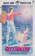 TC Japon / 110-011 - MANGA - WEEKLY JUMP PIRATES CLUB - CITY HUNTER By TSUKASA HOJO - ANIME Japan Phonecard - 11475 - BD