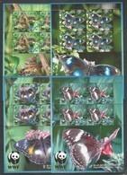 AITUTAKI - MNH - Animals - Insects - Butterflies - WWF - Farfalle