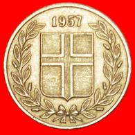 + GREAT BRITAIN BIRCH (1946-1967): ICELAND ★ 25 ORE 1957! LOW START ★ NO RESERVE! - Islandia