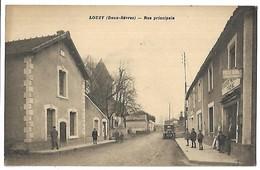 LOUZY - Rue Principale - Frankrijk