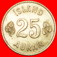 + GREAT BRITAIN BIRCH (1946-1967): ICELAND ★ 25 ORE 1965 UNCLEANED! LOW START ★ NO RESERVE! - Islandia