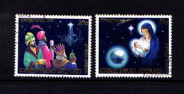 CHRISTMAS  ISLAND   1979    Christmas    Set  Of  2    USED - Christmas Island