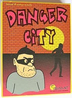 JEU DE CARTES - Danger City - Edition Isimat 2005 - Jeux De Société