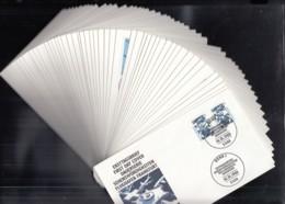 BRD  Jahrgang 1988, 50 FDC, Komplett, 1347-1396, Künstler-Ersttagsbriefe 1-40 - BRD