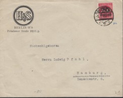 INFLA DR 282 I EF, Geprüft: Peschl, Auf Brief Der Fa. H&S, Gestempelt: Berlin W9s 1.9.1923, Ersttag - Allemagne