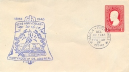 Philippines 1948 FDC Postal Stationery Envelope 2 C. José Rizal - Filippine