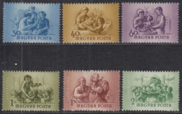 UNGARN 1364-1369, Postfrisch **, Internationaler Frauentag, 1954 - Hongrie