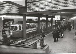 Kassel Tram Tramway Strassenbahn Tunnel Hauptbahnhof 70's - Kassel