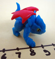 MINI DRAGON FIGURE PLASTICA MORBIDA - Figurines