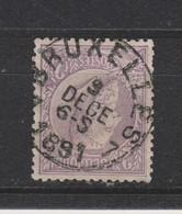 COB 52 Oblitération Centrale BRUXELLES 7 - 1884-1891 Léopold II