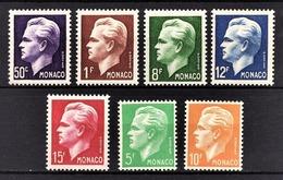 MONACO 1950 / SERIE  N°344 A 350 / NEUFS** /6 - Monaco