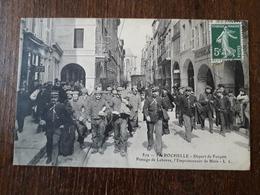 L23/6 La ROCHELLE -- Départ De Forçats , Passage De Leborre, L'empoissonneur De BLOIS - La Rochelle