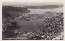 RP: BERGEN, Utsikt Fra Ulrikken, Norway / NORGE, 1910-30s - Norvège