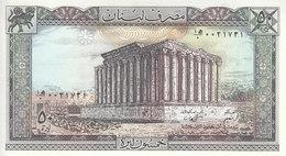LEBANON 50 LIVRES LIRA 1988 P- 65b UNC */* - Lebanon