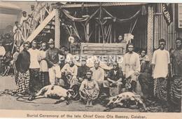 Nigeria  CALABAR  Burial Ceremony Of The Late Chief Coco Ota Bassey  Ng249 - Nigeria