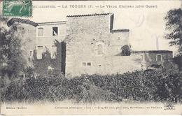 LA TOUCHE (3)- LE VIEUX CHATEAU  (côté Ouest) 1914 - Altri Comuni