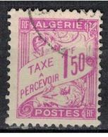 ALGERIE               N°     YVERT  TAXE   29          OBLITERE       ( Ob  3/30) - Argelia (1924-1962)