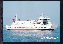 "MS ""Westfalen"" - Paquebote"