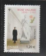 FRANCE 2018 ROSE VALLAND OBLITERE YT 5267 - France