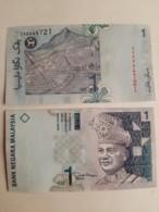 Malaysia 1 Ringgit RM1 (2012) ZV 1 Zero Replacement Paper Zeti Sign UNC - Malaysia