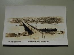 AUSTRALIE WESTERN AUSTRALIA FREMANTLE SWAN RIVER AND BRIDGE - Fremantle