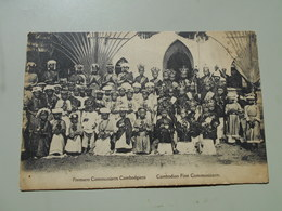 CAMBODGE PREMIERS COMMUNIANTS CAMBODGIENS - Cambogia