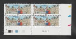 FRANCE / 2019 / Y&T N° 5336 ** : Cassel (Nord) X 4 - Coin Daté 2019 05 02 - 2010-....