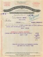 FACTURE 1933 VIGNOBLES ET CAVES DE LA BOUVRAIE ANJOU A INGRANDES SUR LOIRE - 1900 – 1949