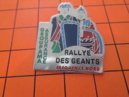 1018A PIN'S PINS / Rare Et De Belle Qualité ! / Thème : AUTOMOBILES / RALLYE DES GEANTS FREQUENCE NORD GROUPAMA - Rallye