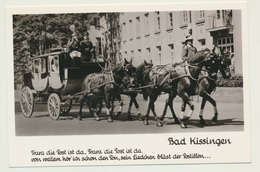 AK  Bad Kissingen Postkutsche - Bad Kissingen