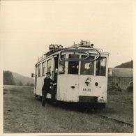 MARTELANGE - BASTONE    :  TRAM  AR133  ( 9  X 9  Cm) - Trains