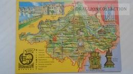 D166300 Map Carte - Szabolcs-Szatmár Megye -Kisvárda Nyíregyháza Mátészalka  1971 - Landkaarten