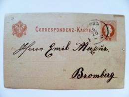 Post Card Carte Austria Ischl Postal Stationery - 1850-1918 Imperium