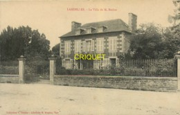 28 Landelles, La Villa De M. Beslon, Belle Carte Pas Courante - Autres Communes