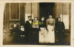 35 La Boussac, Carte Photo De La Famille Grangien, Chiffonniers - France
