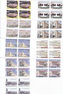 LEBANON-Liban-2005, Definitive Issue 9 Stamsps Bloc's Of 4 Marginal,MNH- Scarce Set- Reduced Price- - Laos